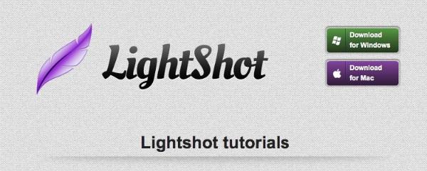 Graphics Tools for Online Designers - Light Shot Screenshot