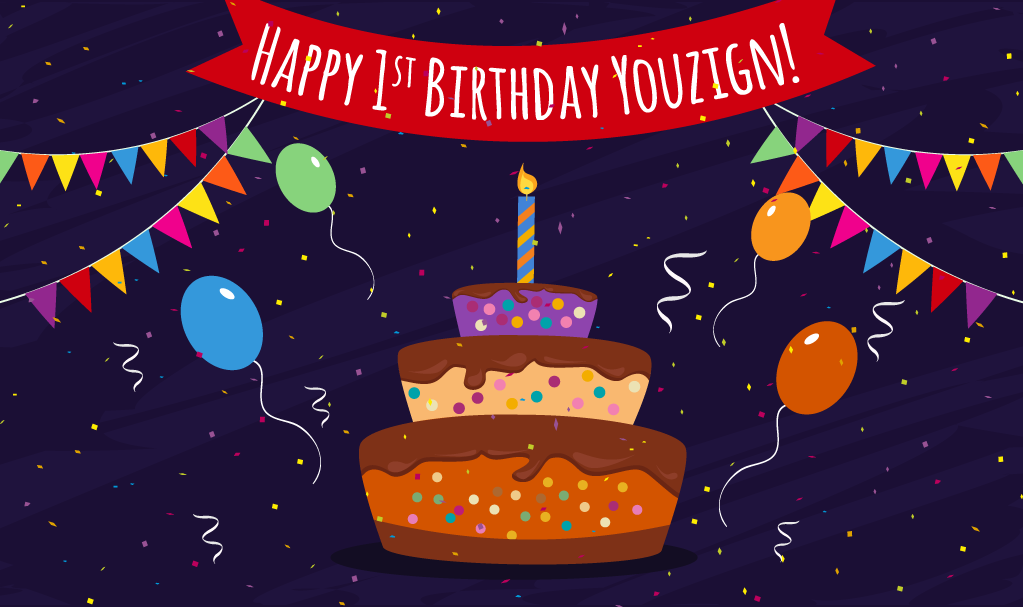 Happy Birthday Youzign: 100,000 Designs Milestone!