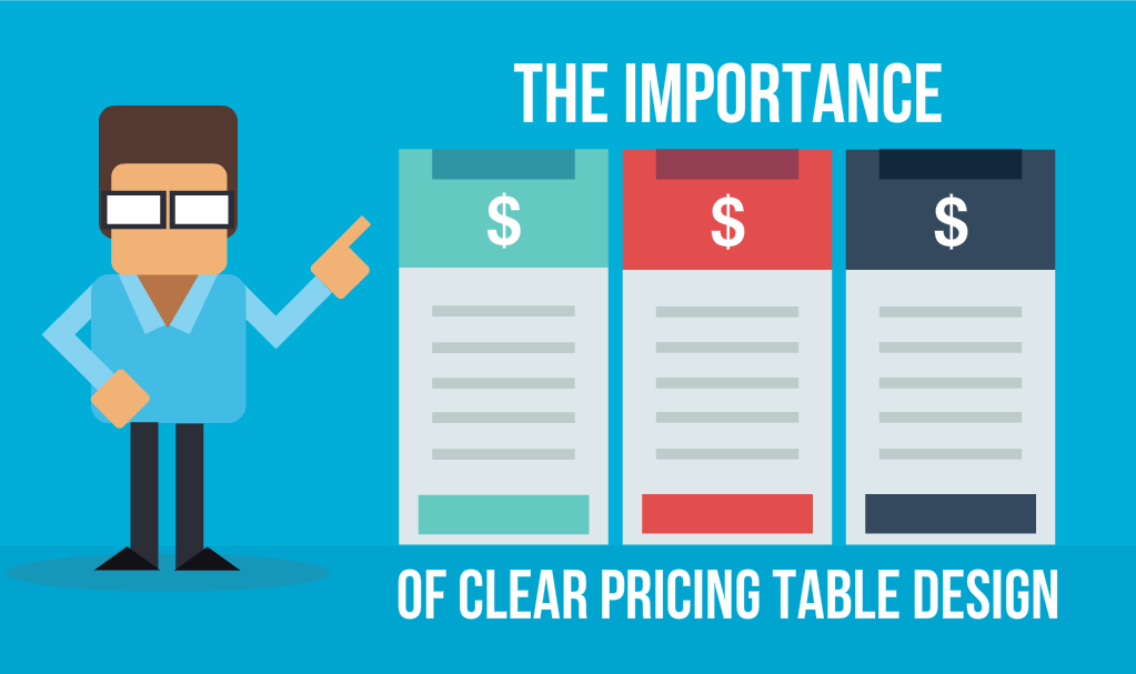 The Importance of Clear Pricing Table Design